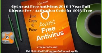 Avast Free Antivirus 2017 License Key