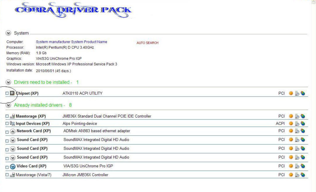 Cobra Driver Pack Solution 2018 For Computer Latest Version