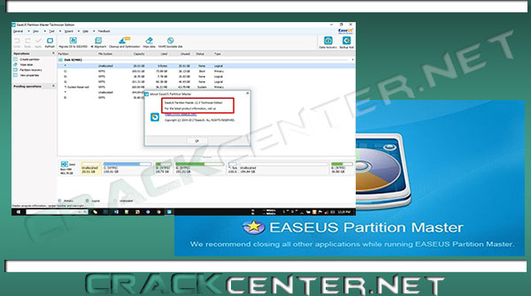 easeus partition master 12.5 licence code